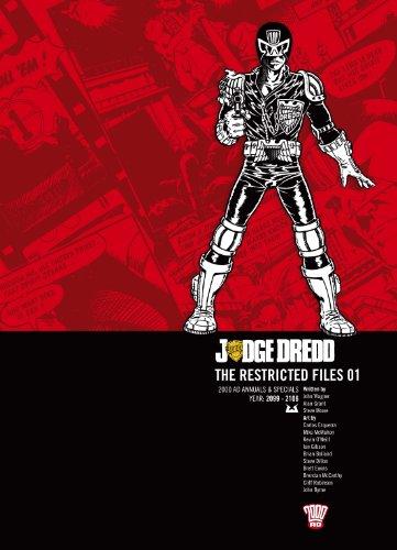 Judge Dredd: v. 1: The Restricted Files (2000ad Judge Dredd)