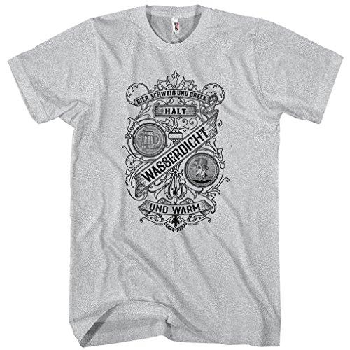 Smash-Transit-Mens-Beer-Sweat-and-Dirt-German-T-shirt