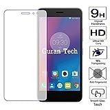 Guran® Glass Protector pour Lenovo K6 (5 inch) Smartphone Screen Verre Trempé Protecteur d'écran Résistant aux éraflures