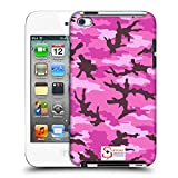 Official Support British Soldiers Pink Camo Hard Back Case for Apple iPod Touch 4G 4th Gen