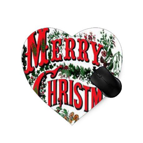 (Gaming Mouse Pad Frohe Weihnachten Foto Muster 30 Design f¨¹r Desktop und Laptop 1 Pack)