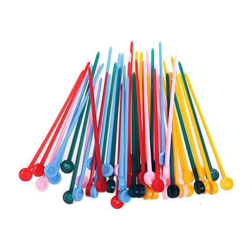Cose von Donna Set Stick Nadeln für Lockenwickler - Packung 50 x 160 g