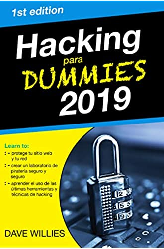 Descargar gratis Hacking para dummies 2019 de dave willies