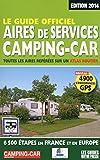 Le guide officiel des aires de services camping-car 2014