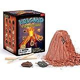 Giocattolo di eruzione del vulcano, Bambini Giocattoli di scavo Puzzle fai da te Archeologia Giocattolo del modello di vulcano Giocattolo di simulazione del vulcano Per ragazzi Ragazze Modello