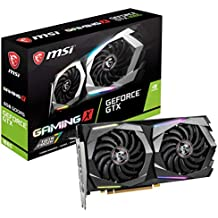 MSI Gaming GeForce GTX 1660 128-Bit HDMI/DP 6GB GDRR5 HDCP Support DirectX 12 Dual Fan VR Ready OC Graphics Card (GTX 1660 Gaming X 6G)