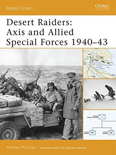 Desert Raiders: Axis and Allied Special Forces 1940-43 (Battle Orders) por Andrea Molinari