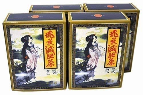 4 Paquetes Fei Yan Feiyan Té Adelgazante Perder Peso