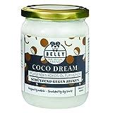 Bio Kokosöl für Tiere von Belly | Hund Zeckenschutz dank 100% natürliches Kokosnussöl | Floh und Zeckenschutz kombiniert als Fell- und Pfotenpflege