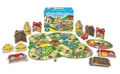 Orchard Toys - Juego de mesa de los tres cerditos de Orchard Toys
