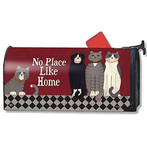 Mailwraps Katzen zu Hause MailWrap Mailbox, 01397