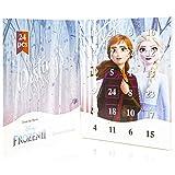 Disney Frozen 2 Adventskalender für Weihnachten 2019 mit 24 Schmuck von Die Eiskönigin 2 Tolle Inhalte Adventskalender Anna ELSA - Geschenke für Mädchen