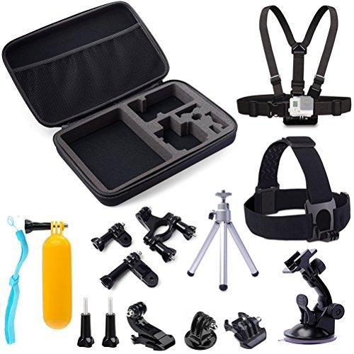 gogoing-14-in-1-accessory-kit-for-gopro-hero4hero3-hero3hero2-hero-camerapackage-includes-head-strap