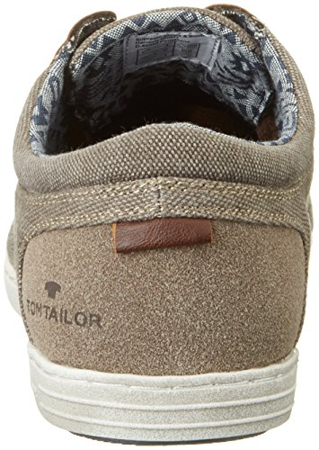 Tom Tailor 2781201, Baskets Basses Homme Marron (nature)