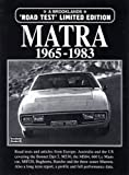 Matra 1965-1983 Road Test (Limited Edition)