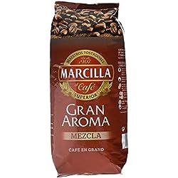 Marcilla, Café de grano tostado (Mezcla) - 1kg.