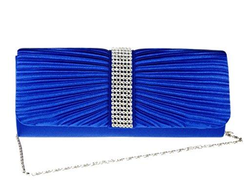 fi9®, Poschette giorno donna Multicolore Multicolore Multicolore (Blu Royal)