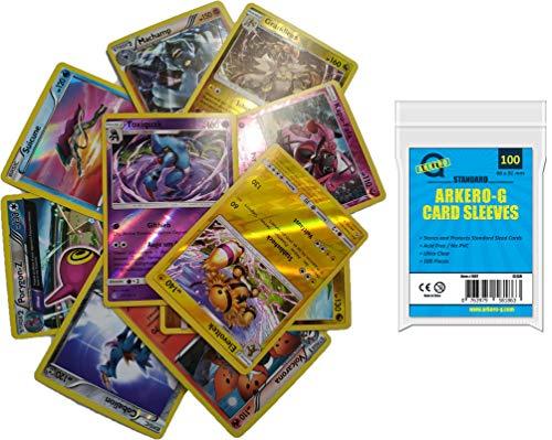o Karten Sparpack (DE / EN gemischt) + GRATIS Arkero-G Standard Soft Sleeves (Kartenhüllen) ()