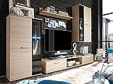 Wohnwand Mediawand Anbauwand Wohnzimmerschrank Wohnzimmer Möbel