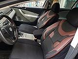 Sitzbezüge k-maniac | Universal schwarz-rot | Autositzbezüge Set Vordersitze | Autozubehör Innenraum | Auto Zubehör für Frauen und Männer | V330252 | Kfz Tuning | Sitzbezug | Sitzschoner