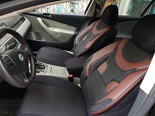 Sitzbezüge k-maniac   Universal schwarz-rot   Autositzbezüge Set Komplett   Autozubehör Innenraum   Auto Zubehör für Frauen und Männer   NO1920500   Kfz Tuning   Sitzbezug   Sitzschoner
