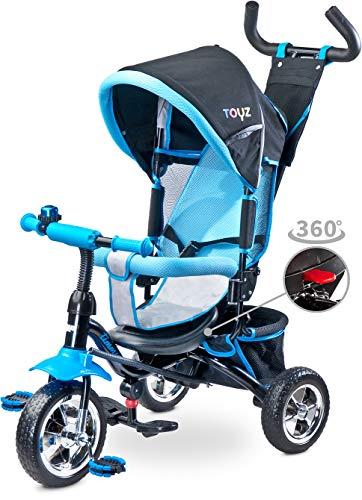 Triciclo silla giratoria modelo Timmy en azul