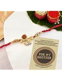 TIED RIBBONS Designer Rakhi for Bhaiya with Rakshabandhan Special Card