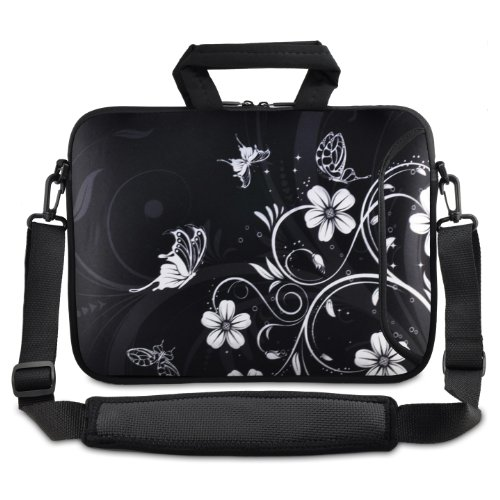 "Black and white Flower 12.5"" 13"" 13.3"" inch Notebook for sale  Delivered anywhere in UK"