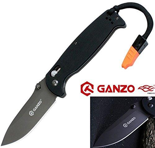 Ganzo Firebird Caballero Oscuro G10 Cuchillo Plegable
