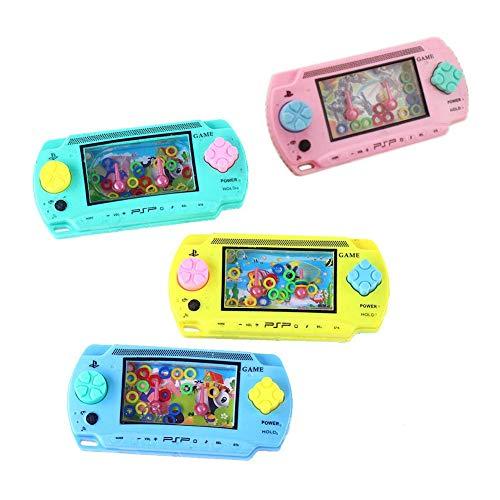 Szseven 1pc Giochi Portatili, Console per L'acqua Ring Toss Puzzle Game Toy Infanzia Classico Nostalgico per Bambini per Bambini Bambini Educazione Precoce