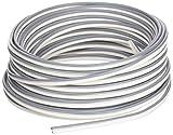 Cofan 51002112 - Cable audio paralelo (2 x 0.75 mm, 50 m) color gris y blanco