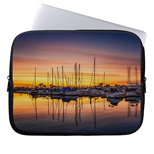 hugpillows-laptop-sleeve-borsa-san-diego-harbor-sunset-notebook-sleeve-casi-con-cerniera-per-macbook
