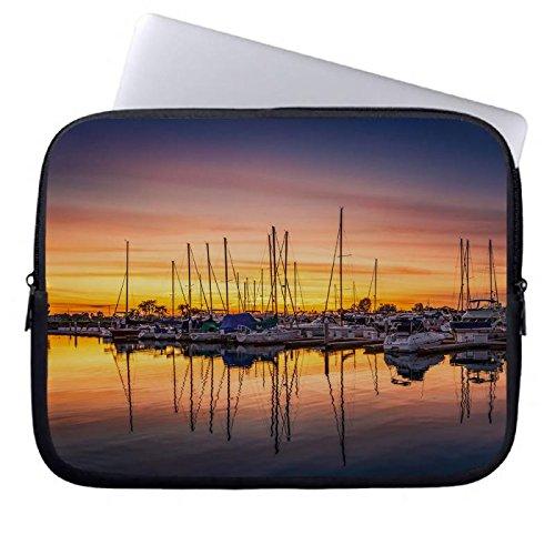 hugpillows-pour-ordinateur-portable-sac-de-san-diego-harbor-sunset-pour-ordinateur-portable-cas-avec