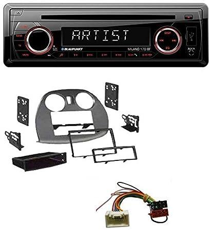 Blaupunkt Milano 170 BT SD Bluetooth USB MP3 CD Autoradio für Mitsubishi Eclipse (4G 2005-2012) (4g Datenträger)