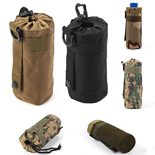 Im Freien taktisches Milit_r Camping Wandern Tasche Wasserflasche Bag Kettle Pouch digital Camo