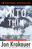 'Into Thin Air: A Personal Account of the Mt. Everest Disaster' von Jon Krakauer