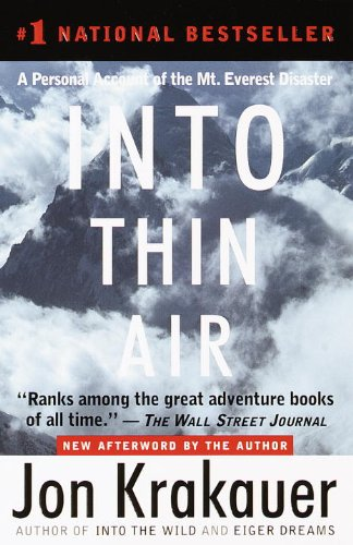 Buchseite und Rezensionen zu 'Into Thin Air: A Personal Account of the Mt. Everest Disaster' von Jon Krakauer