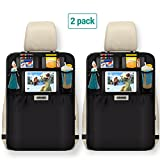 Aomaso Kick Mats 2-Pack with Multi-pocket Organizer, Seat - Best Reviews Guide
