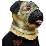 CreepyParty Cabeza de perro Animal de la novedad del Partido Del Traje de Lujo de Halloween Mascarada Máscara Doguillo
