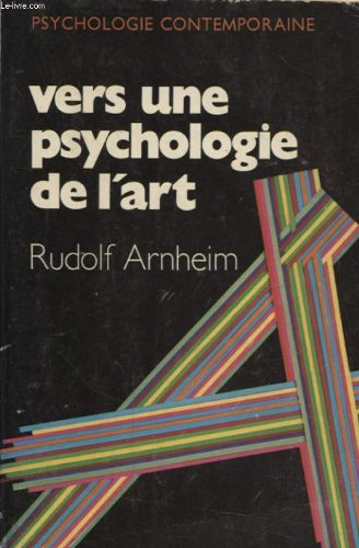 Vers une psychologie de l'art