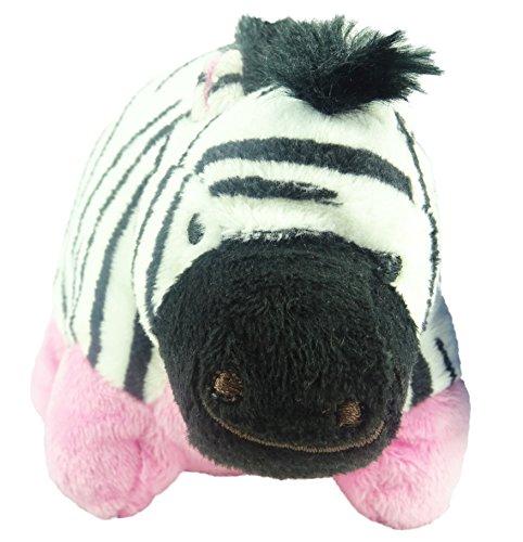 Meine Kissen Haustiere Bohne Tasche Plüschtier 14cm - Zebra (Meine Kissen-haustiere)