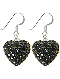 Gorgeous Heart Pendant / Earring by BodyTrend - bling bling!! - huge range of colors - heart size in 14MM (9/16')