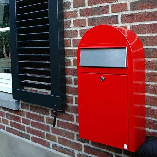 Bobi Grande S Briefkasten Edelstahl (V2A) Wandbriefkasten - 3