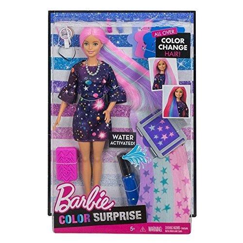 Barbie FHX00 Haarfarben-Spaß Puppe (Blond)