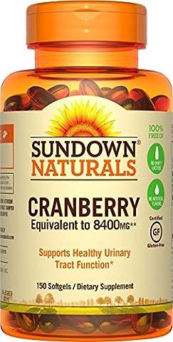 Super-Cranberry, plus Vitamin D3, 150 Softgels - Rexall Sundown Naturals