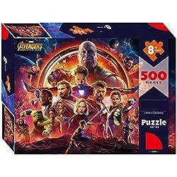 Puzzle WYF Rompecabezas de Madera, Cartel de película de Marvel Hulk, 300.500.000 Piezas, The Avengers Captain America Comics P629 (Color : B)