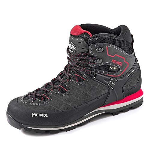 Meindl Litepeak GTX Men Größe UK 11,5 Graphit/rot Gtx Light Hiking Boot