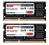 Komputerbay MACMEMORY 16GB Dual Channel Kit 2x 8GB 204pin 1.35v DDR3-1867 SO-DIMM 1867/14900S (1867MHz, CL13) for Apple iMac 27 5K (Late 2015)