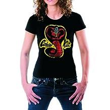 Cobra Kai–Karate Kid maglietta Nero/Donna, nero, L