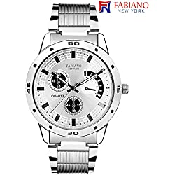 Fabiano New York Analog White Dial Men's Watch - FNY064